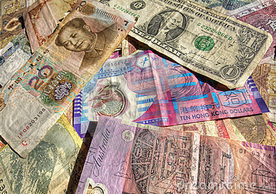 International trade currency