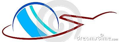 International travel logo