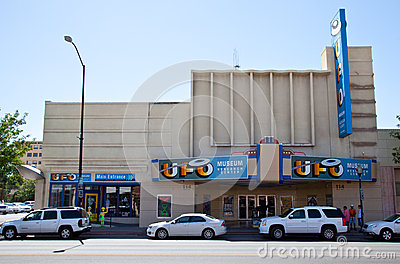 International UFO Museum - Roswell Editorial Stock Photo