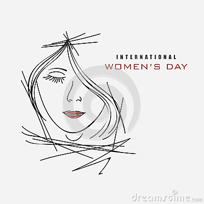 Free International Womens Day Celebration With Young Girl. Royalty Free Stock Photo - 50408175