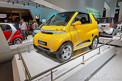 Internationale Automobil Ausstellung Editorial Stock Image