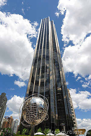 Internationell torntrumf för hotell Redaktionell Arkivbild
