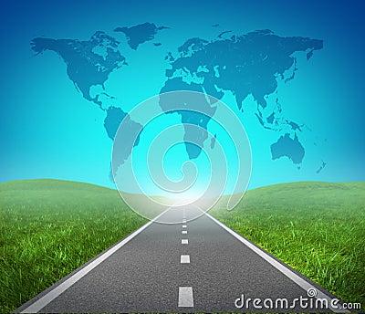 Internationell väg
