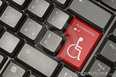 Internet accessibility concept