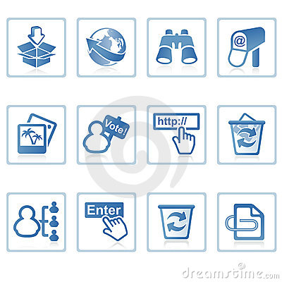 Free Internet And Website Icon II Royalty Free Stock Photo - 2217365