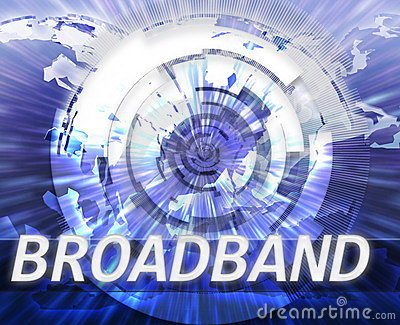 Internet broadband data technology