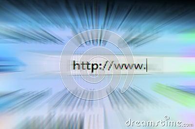 Internet browsing speed