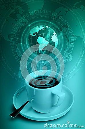 Free Internet Cafe Stock Photos - 9017413