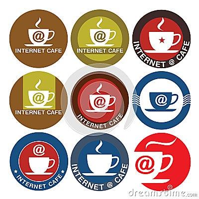 Internet Cafe logo design
