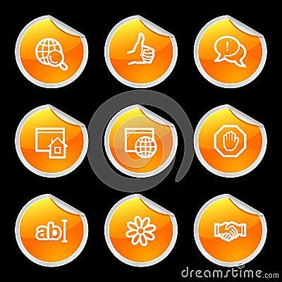 Internet communication icons