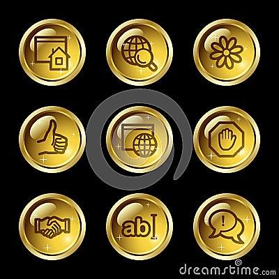 Internet communication web icons