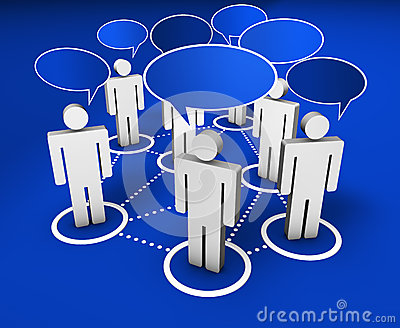 Social Network Internet Community