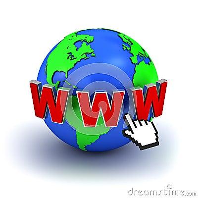 Internet Concept World Wide Web Stock Images Image 21962874
