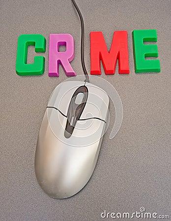 Internet crime.