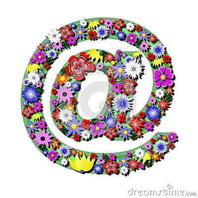 Free Internet Flowers Royalty Free Stock Photos - 5841408