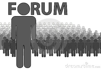 Internet FORUM Admin and people who post read