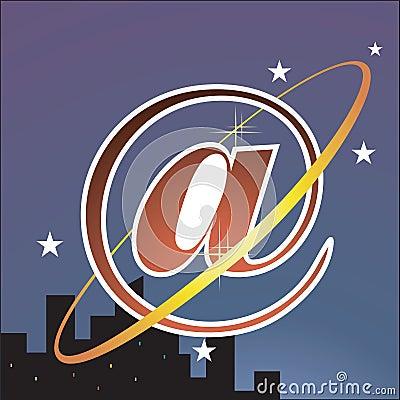 Internet galaxy