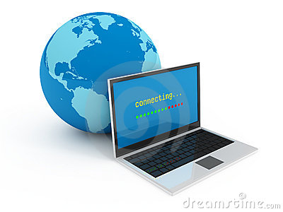 Internet globalization concept