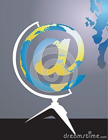 Internet in globe