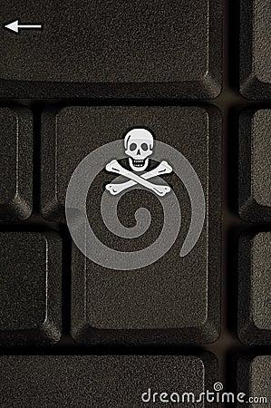 Internet, hacking symbol