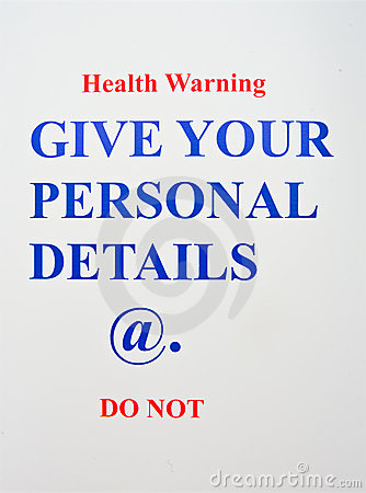 Internet Health Warning.