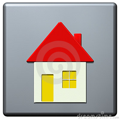 Internet homepage symbol