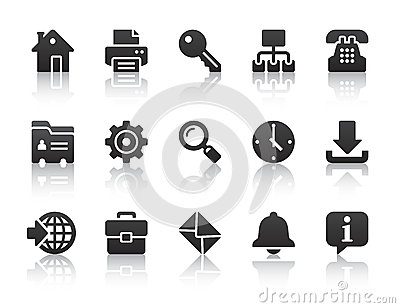 Internet Icons Royalty Free Stock Photo - Image: 26152785