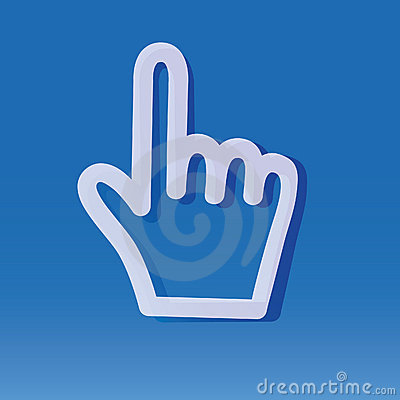 Internet index finger
