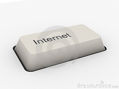 Internet - keyboard button