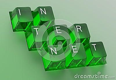 Internet keys / control panel