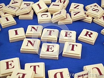 Internet Letter Tiles