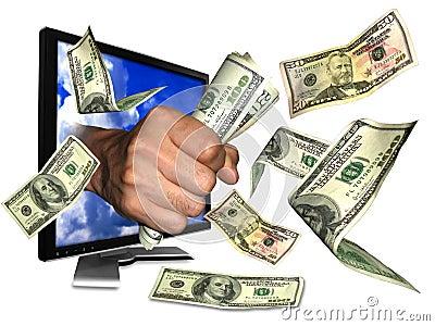 Internet Money Royalty Free Stock Photo - Image: 11767035