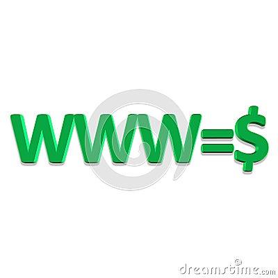 Internet is money
