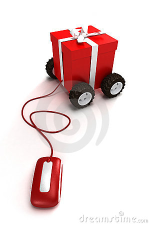 Free Internet Motorized Gift Royalty Free Stock Photos - 3138928