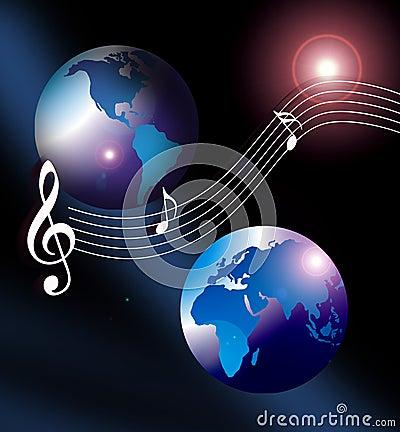 Free Internet Music World Cd Royalty Free Stock Photo - 1375685