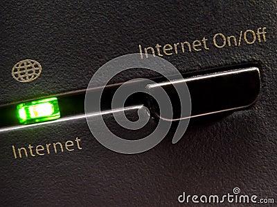 Internet, ON/OFF?