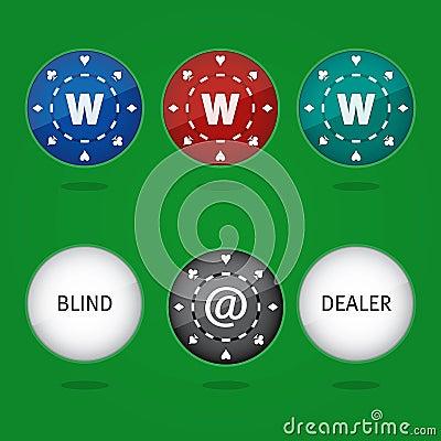 Internet Poker Chips