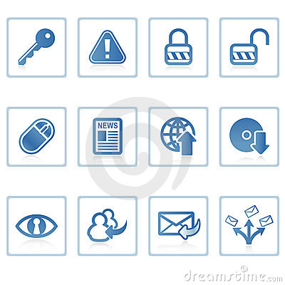 Internet and Security icon I