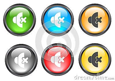Internet shiny buttons