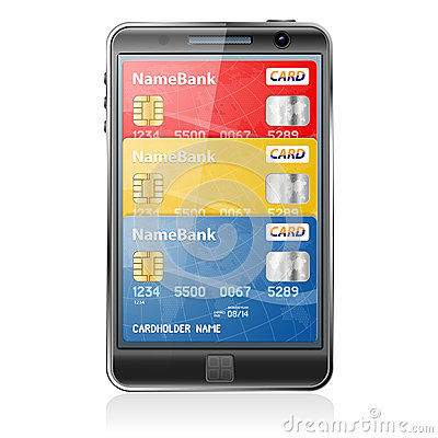 Internet Shopping and Electronic Payments Concept
