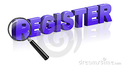 Internet site registration register