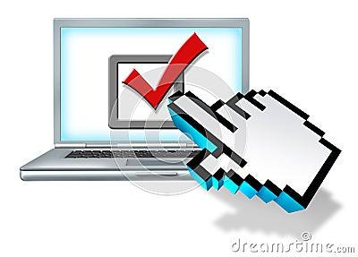 Internet Survey Vote