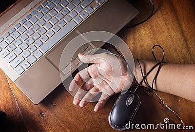 Internet,technology victim
