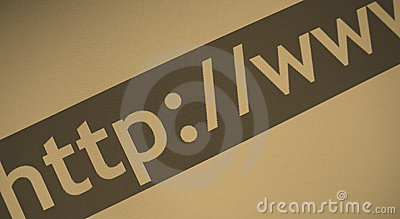 Internet-Web-Adresse