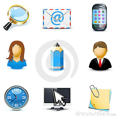 Internet and web icons   Bella series