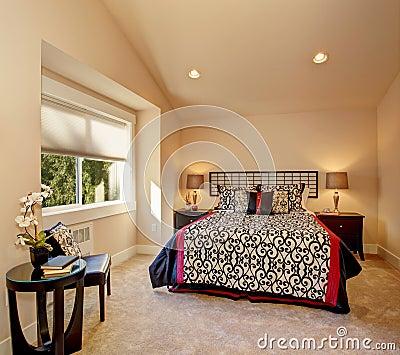 Stile giapponese della camera da letto fotografia stock   immagine ...
