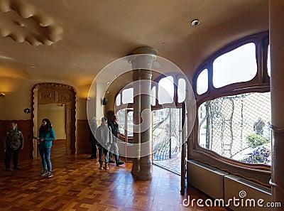 Interno della casa batllo immagine editoriale immagine for Interno della casa