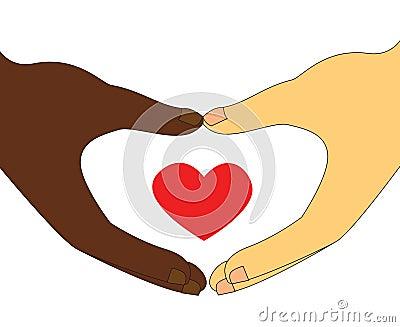 Interracial Couple love