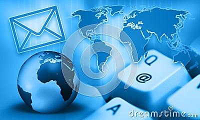 Interrnet communication - e-mail