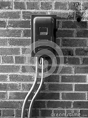 Interrupteur sur le mur